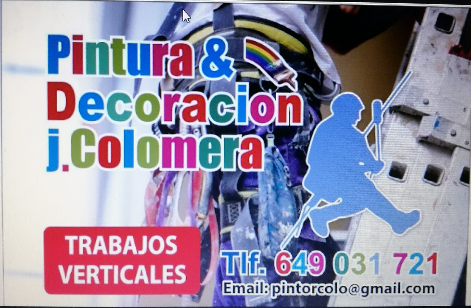PINTURAS Y DECORACIÓN JOSE COLOMERA